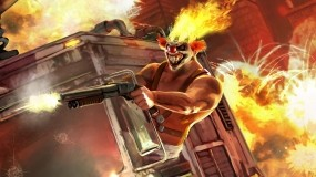 Обои Twisted Metall: Огонь, Клоун, Twisted Metal, Другие игры