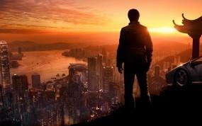 Обои True Crime: Hong Kong (Sleeping Dogs): Город, Человек, Hong Kong, True Crime, Другие игры
