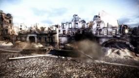 Обои Бой в городе: Игра, World of Tanks, Другие игры
