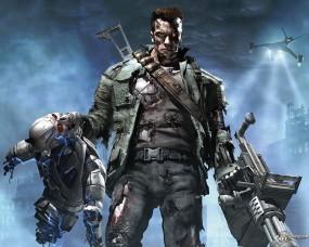 Обои Игра Терминатор: Оружие, Робот, Игра, Терминатор, Другие игры