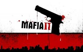 Обои Мафия 2: Кровь, Пистолет, Мафия, Другие игры