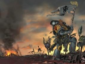 Обои Warhammer Online: Волки, Warhammer, Флаг, Другие игры