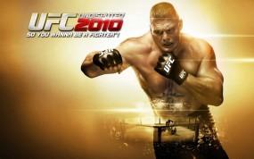 Обои UFC 2010: UFC 2010, Брок Леснар, Другие игры