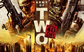 Обои Army of Two: Оружие, Маски, Army of Two, Другие игры