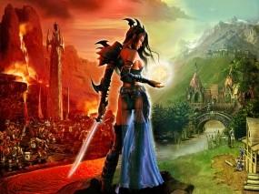 Обои SpellForce The Order of Dawn: SpellForce, Добро и Зло, Другие игры