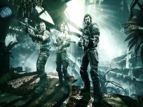 Обои Bulletstorm: Оружие, Солдаты, Bulletstorm, Другие игры