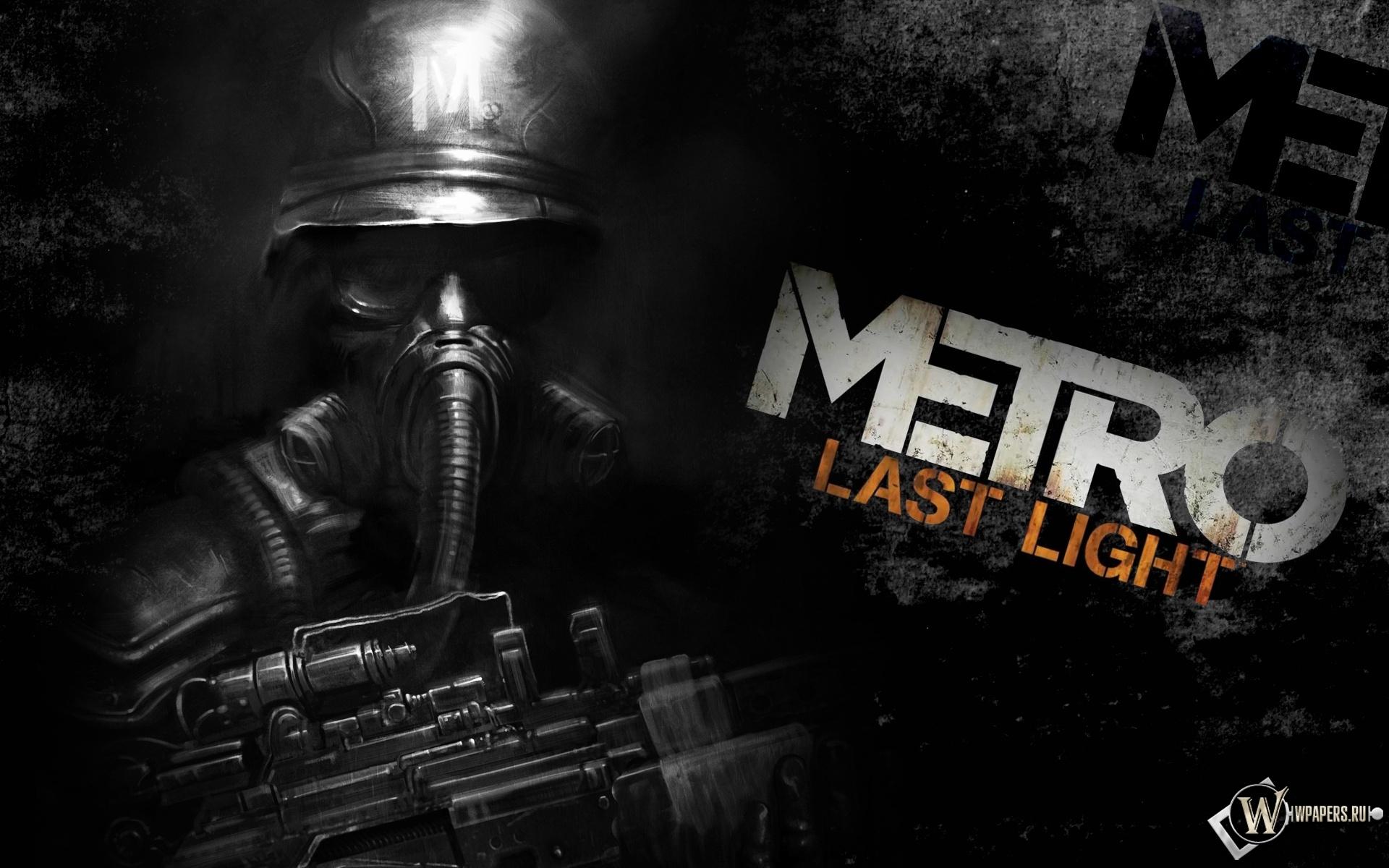 Metro 2033: Last Light 1920x1200