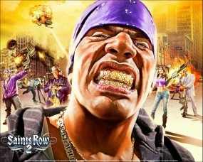 Обои Saints Row 2: Негр, Saints Row, Бандит, Другие игры