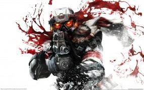 Обои Killzone : Кровь, Выстрел, Killzone, Игры