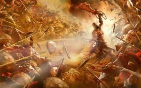 Обои Кратос в ярости: Кратос, Сражение, Ярость, Другие игры