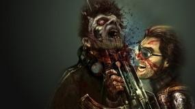 Обои Dead Nation: Оружие, Мужик, Зомби, Dead Nation, Другие игры