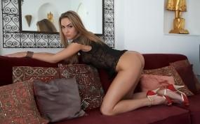 Обои Veronica Fastova: Девушка, Попка, Модель, Каблуки, Девушки