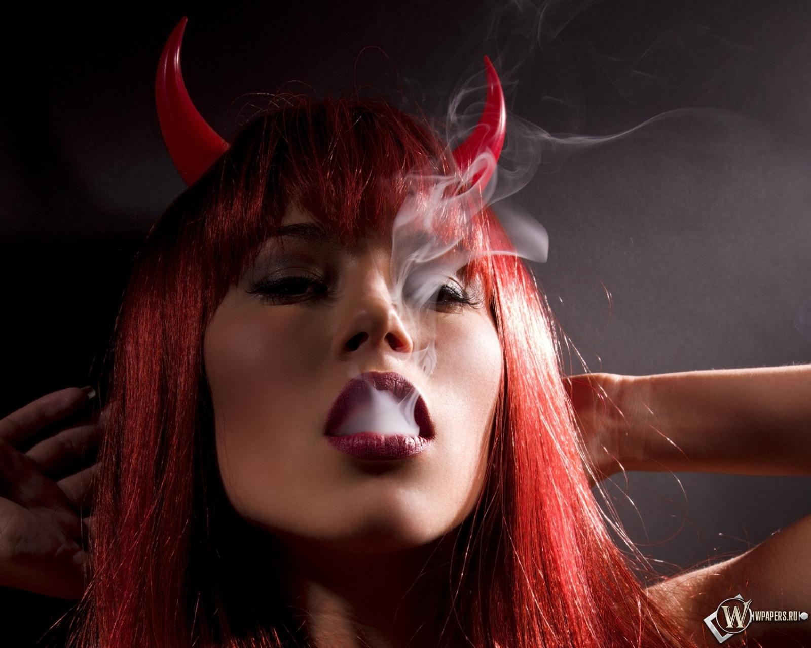 Красивая картинка дьяволицы