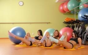 Обои Veronika Fasterova: Девушка, Veronika Fasterova, Фитнес, Девушки