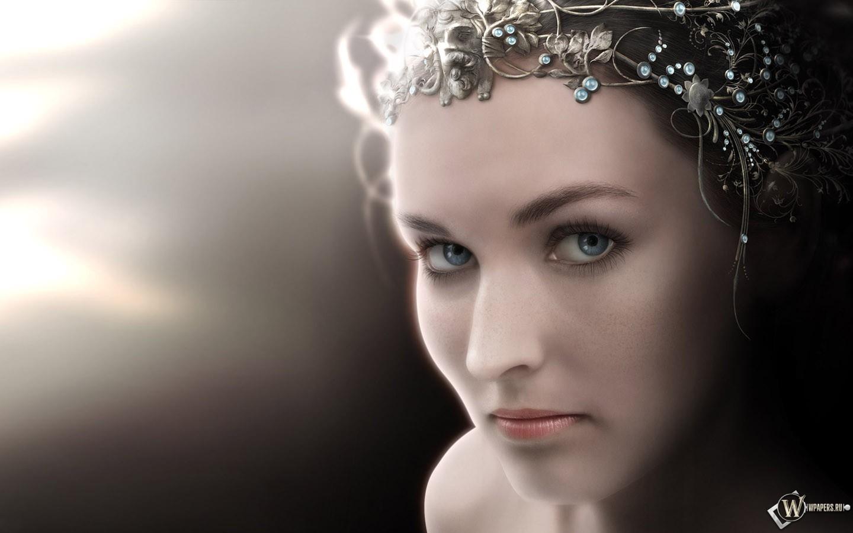 Fantasy Girl face 1440x900