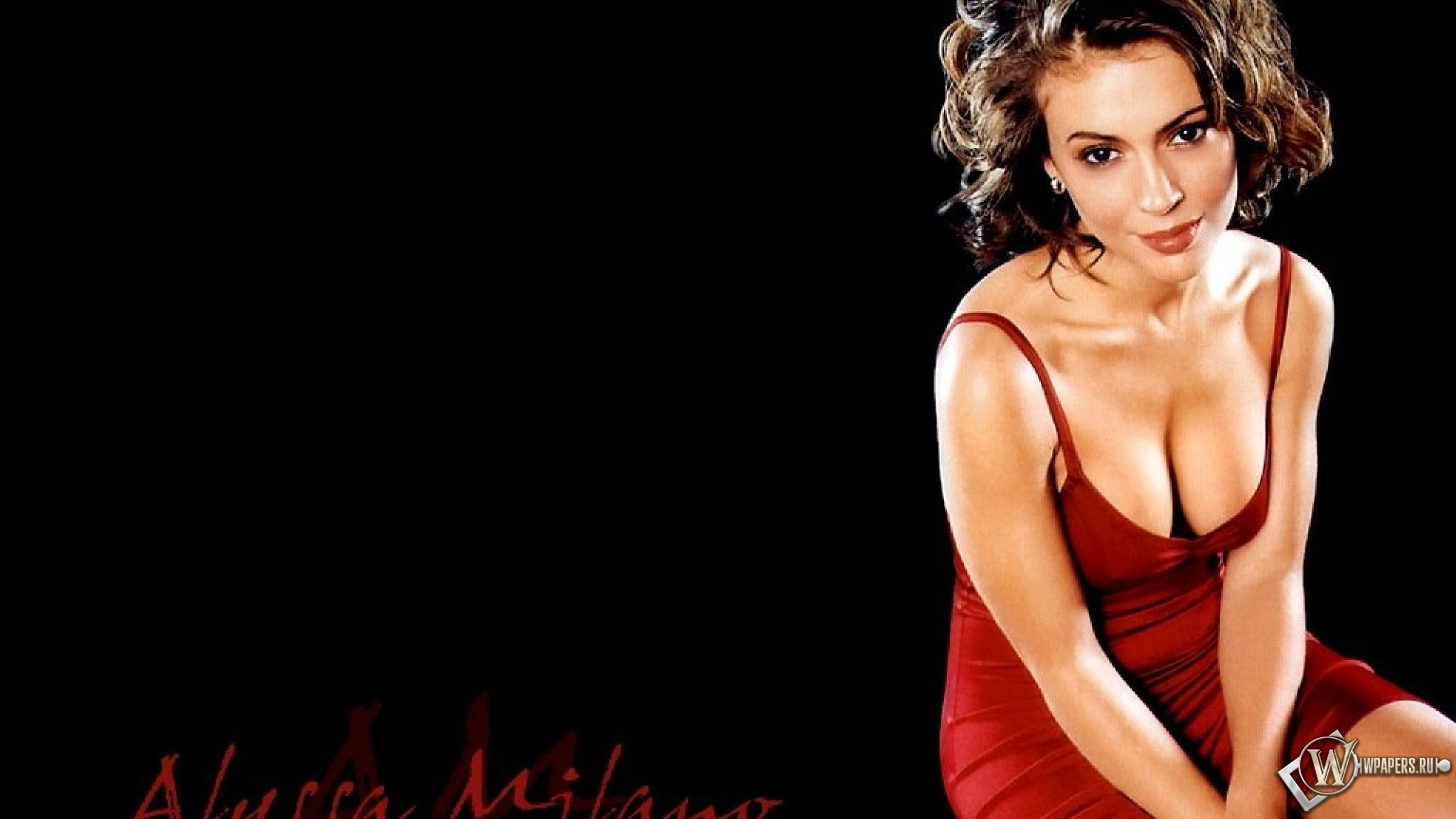 Alyssa Milano 2048x1152
