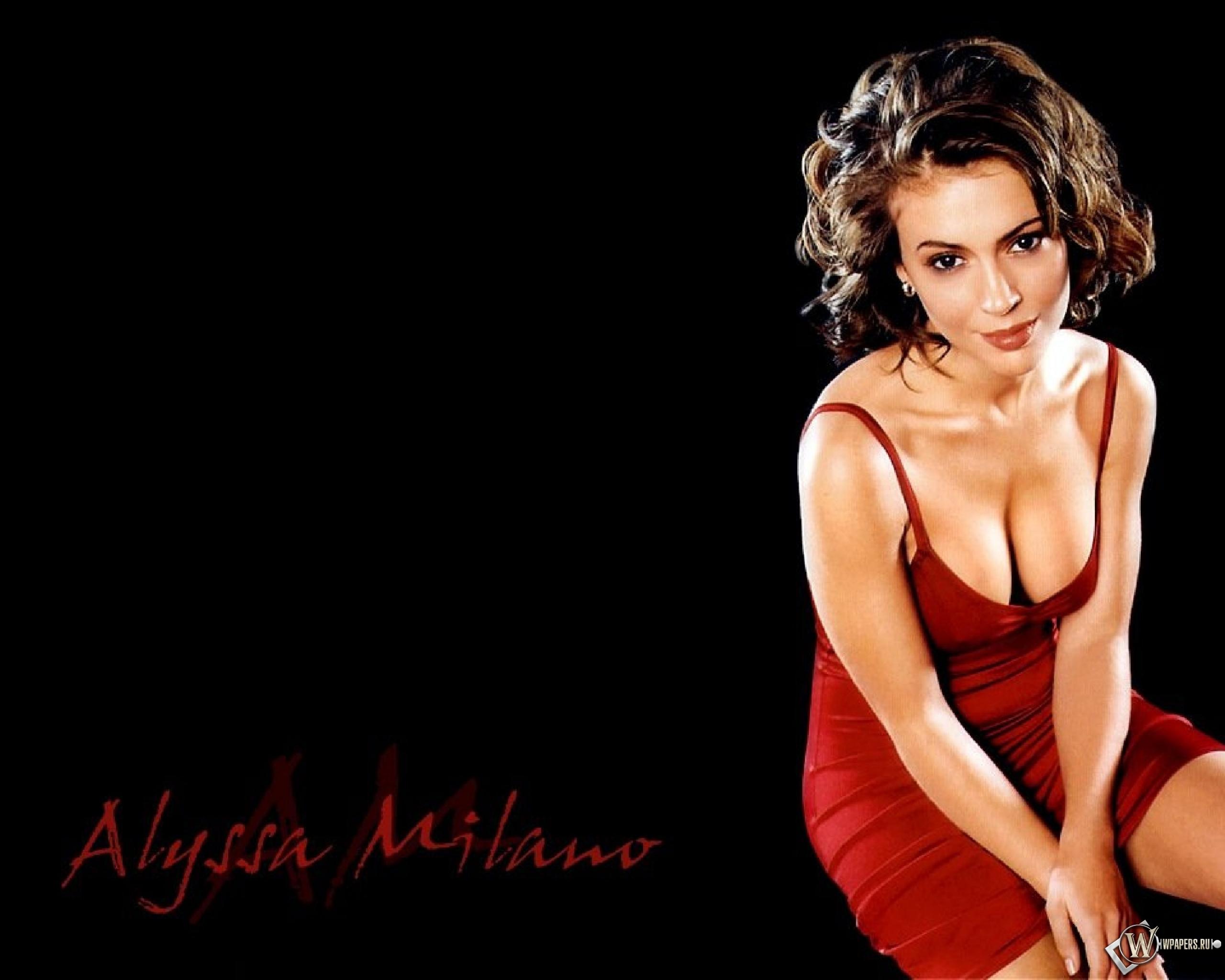 Alyssa Milano 2560x2048