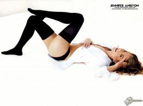 Обои Jennifer Aniston: Поза, Чулочки, Дженнифер Энистон, Девушки
