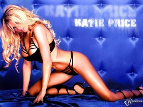 Обои Katie Price: Большая грудь, Блондинка, Сексапильная блондинка, Плоский животик, Katie Price, Девушки