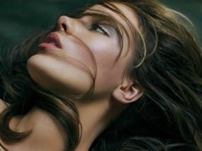Обои Волосы на лице: Девушка, Макияж, Волосы, Kate Beckinsale, Кейт Бекинсейл, Девушки