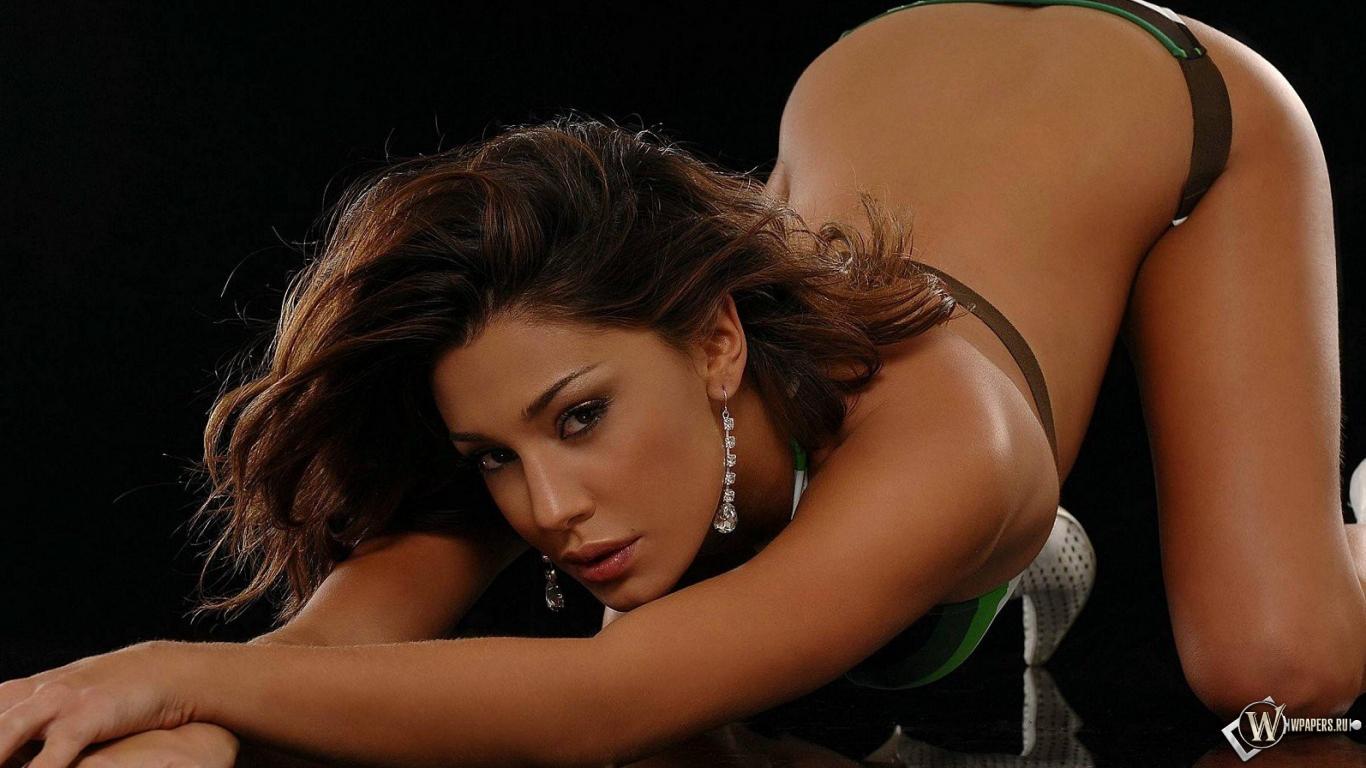 Белен Родригез (Belen Rodriguez) 1366x768