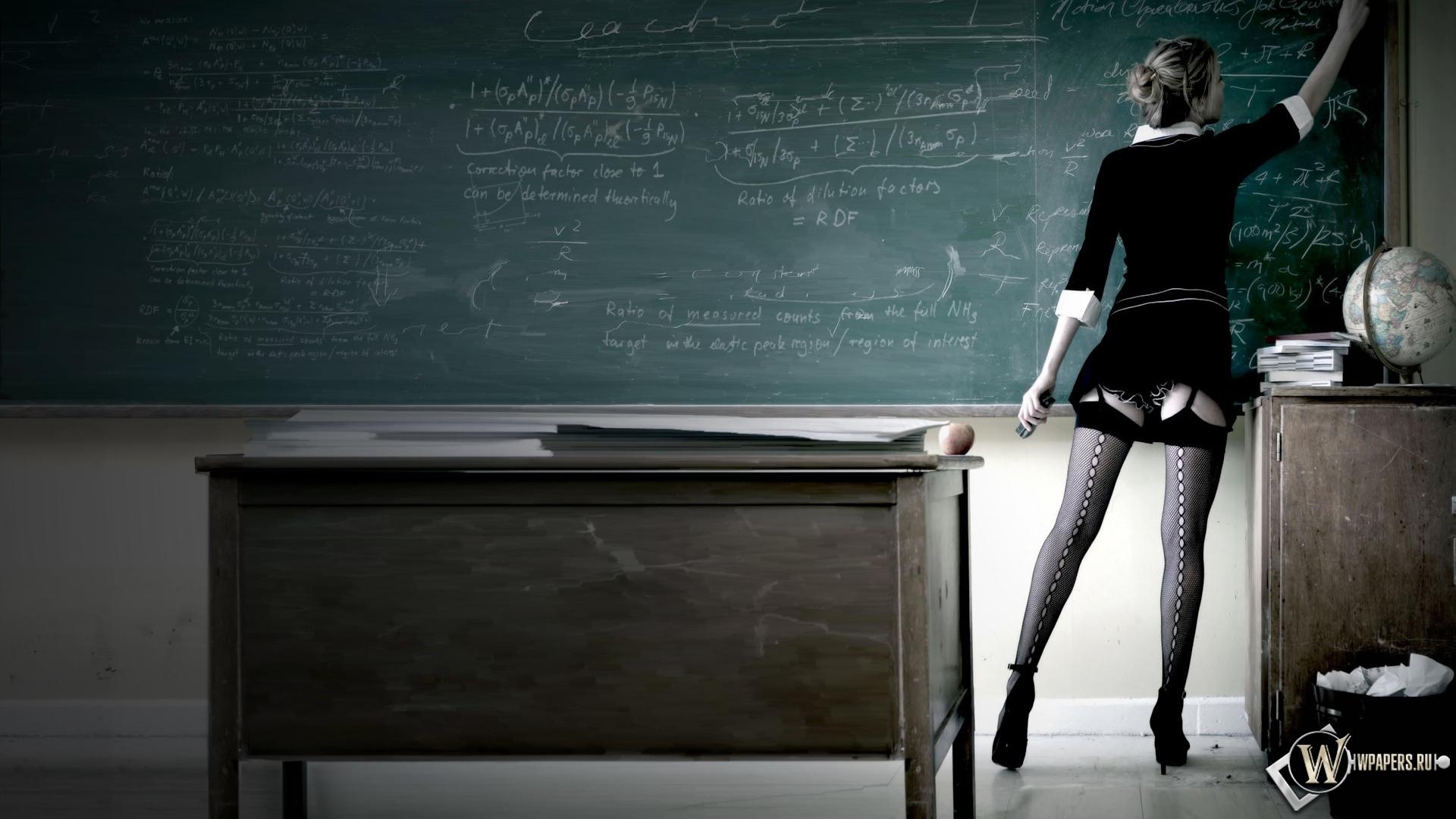 Сексуальная учительница 1920x1080