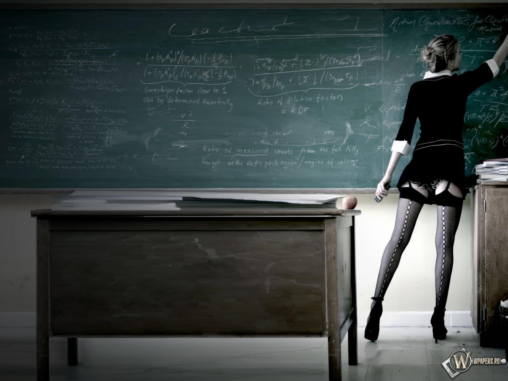 Сексуальная учительница 1920x1440