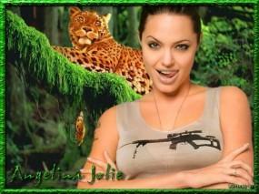 Обои Анджелина Джоли: СВД, Анджелина Джоли, Девушки