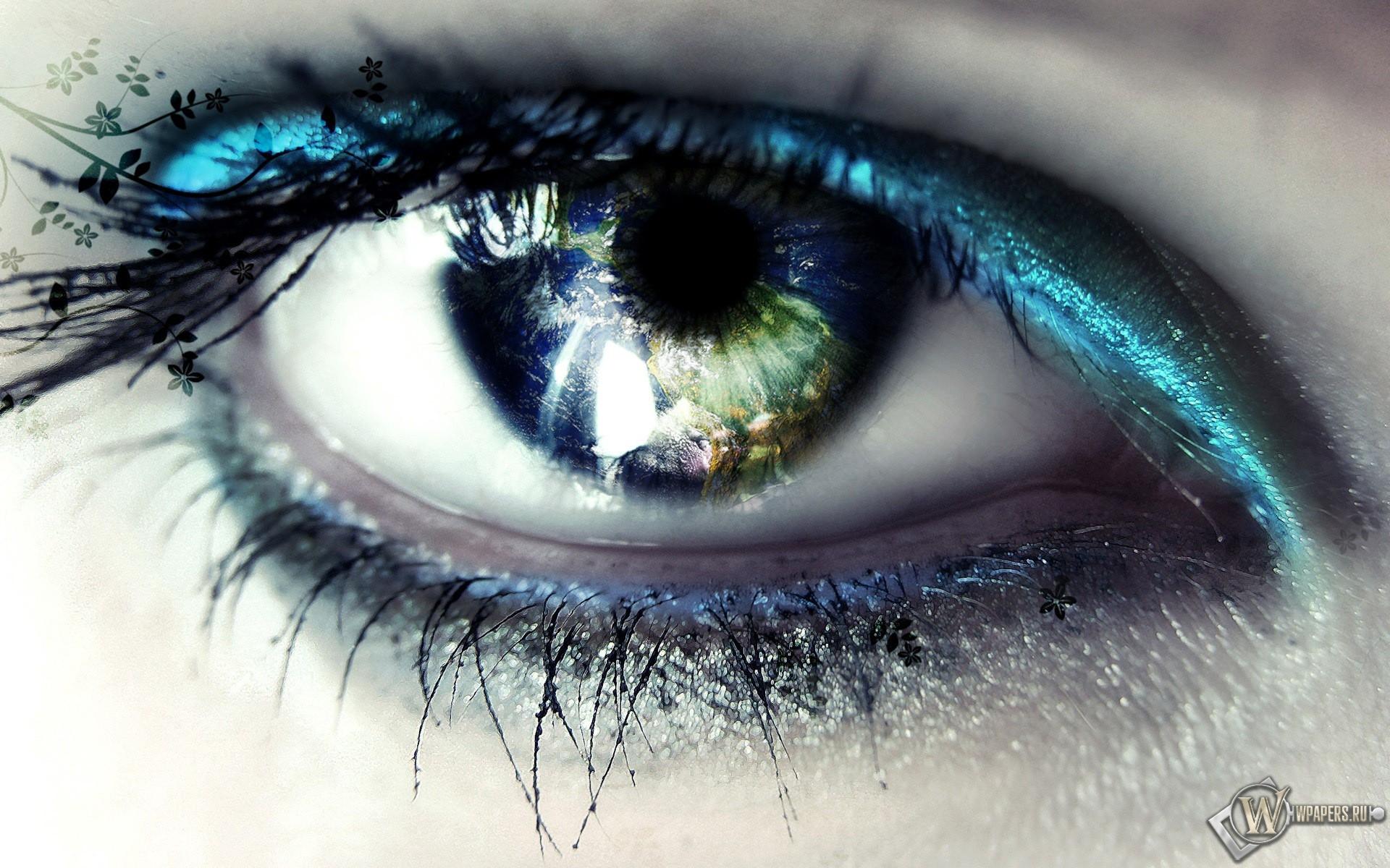 Красивый глаз 1920x1200