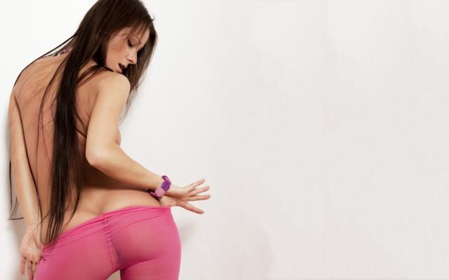 Мелиса в розовых колготках