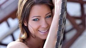 Обои Melisa Mendiny: Красавица, Смех, Melisa Mendiny, Melisa Mendiny