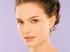 Обои Личико Natalie Portman: Взгляд, Лицо, Личико, Натали Портман, Natalie Portman, Natalie Portman