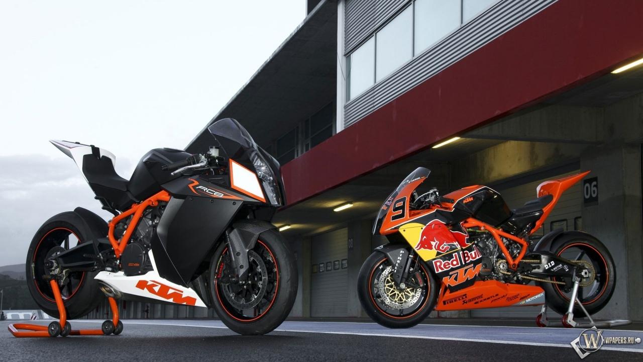 KTM RC8 R Red Bull 2012 1280x720