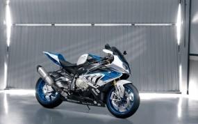Обои BMW: Гараж, Синий, Спортбайк, Мотоциклы