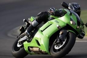 Обои Kawasaki Ninja ZX6R: Мотоцикл, Ninja ZX-6R, Kawasaki, Мотоциклы