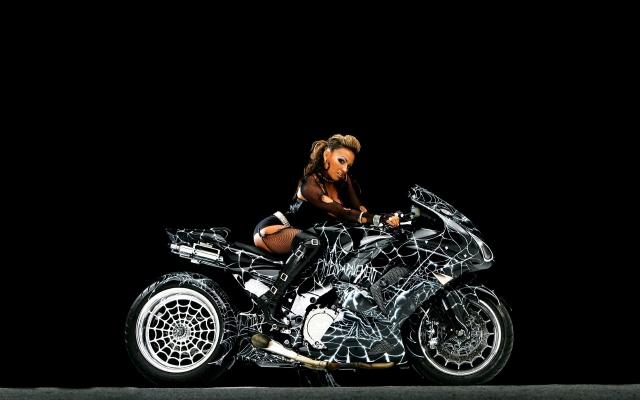Паутинный мотоцикл