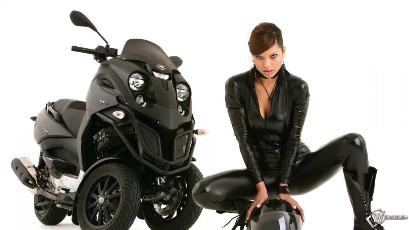 Мотоциклы с девушками картинки на рабочий стол