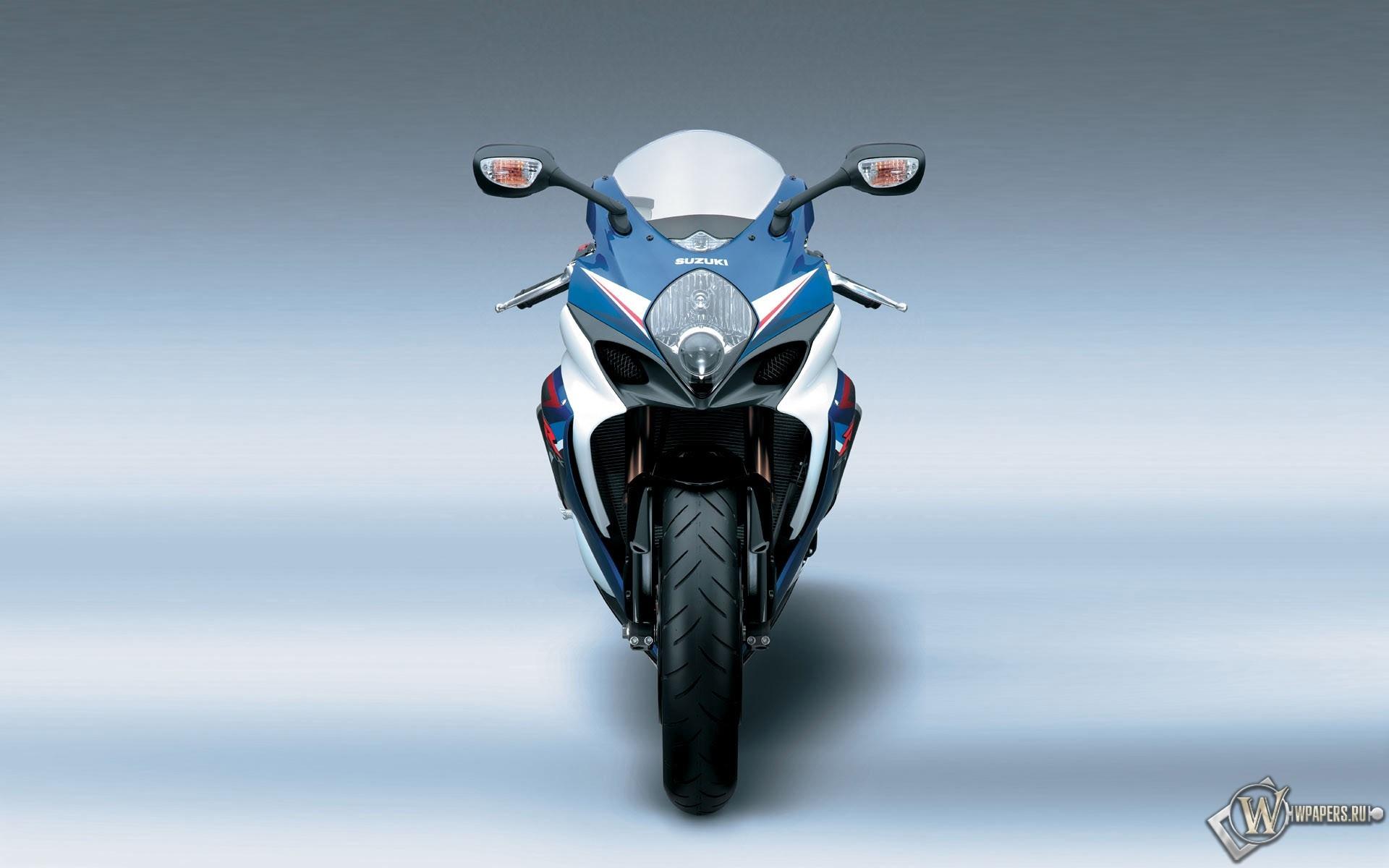 Синий Suzuki 1920x1200