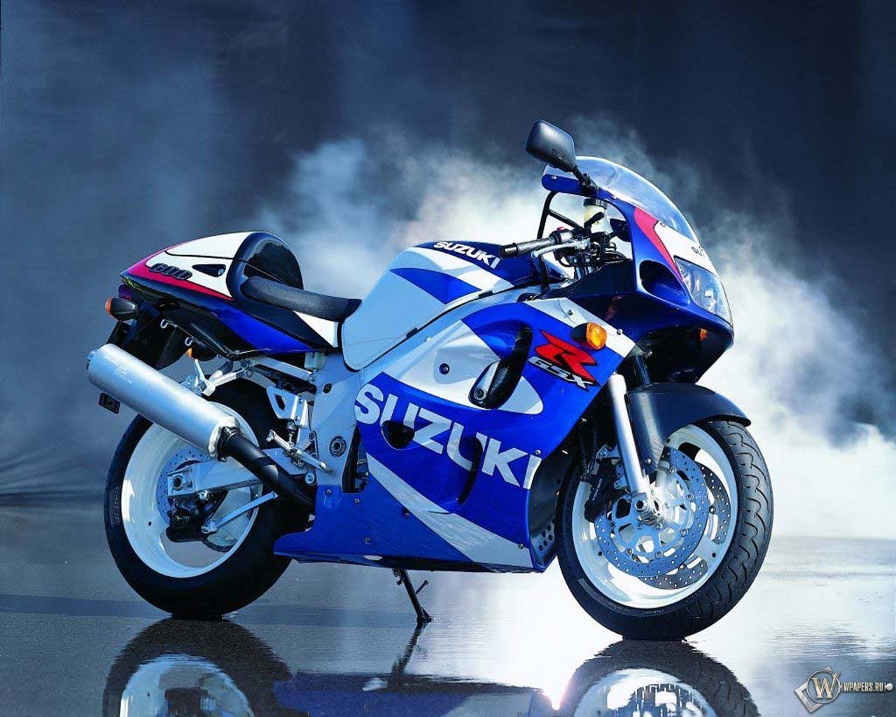 Мотоцикл Suzuki 1280x1024