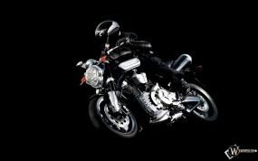 Обои Черная Yamaha МТ-01: Yamaha, Yamaha