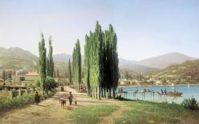 Обои Картина Верещагина: Картина, Верещагин, Природа