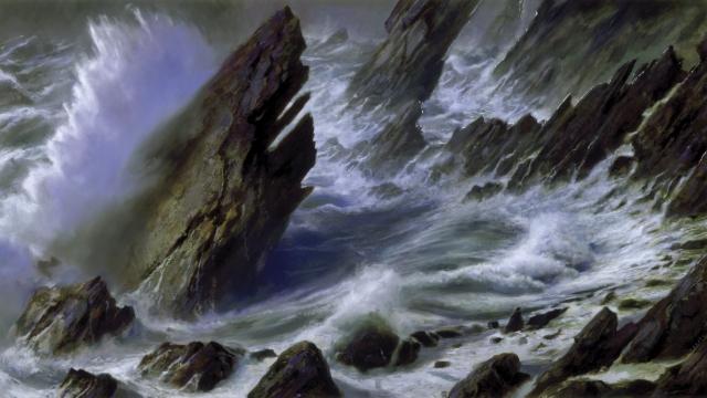 Море-шторм