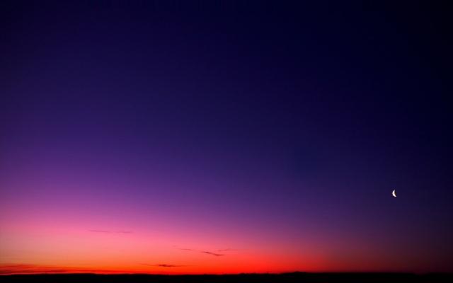 Фиолетовый рассвет