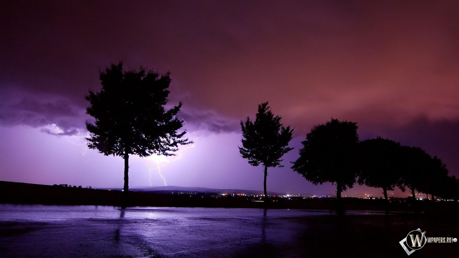 Горизонтальная молния обои для рабочего стола картинки и