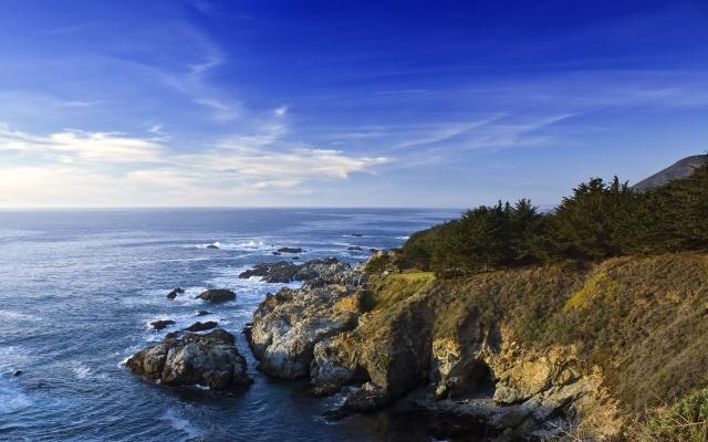 Берег Калифорнии