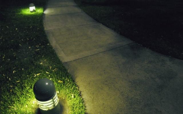Ночь под фонарём