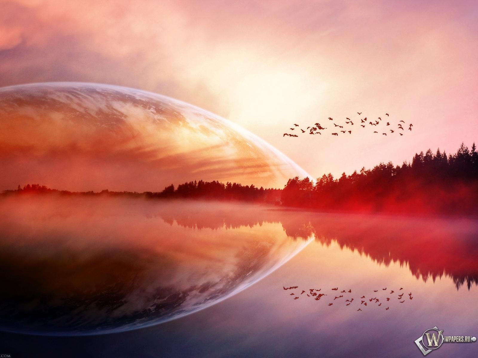 Lake Birds 1600x1200