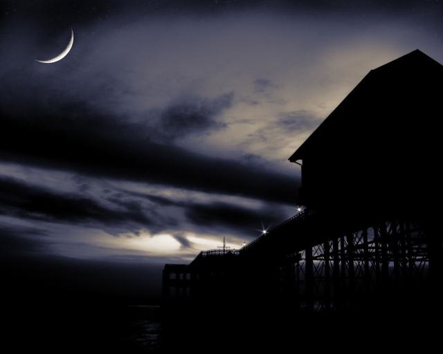Ночь на пирсе