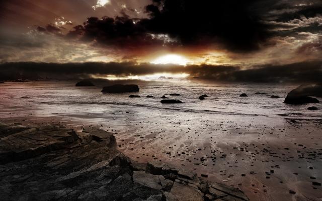 Пасмурный восход