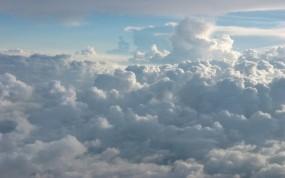 Обои Кучевые облака: Облака, Небо, Голубой, Природа